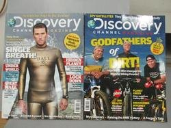 【書寶二手書T7/雜誌期刊_PNF】Discovery_2009/5&6-7_共2本合售_Godfathers