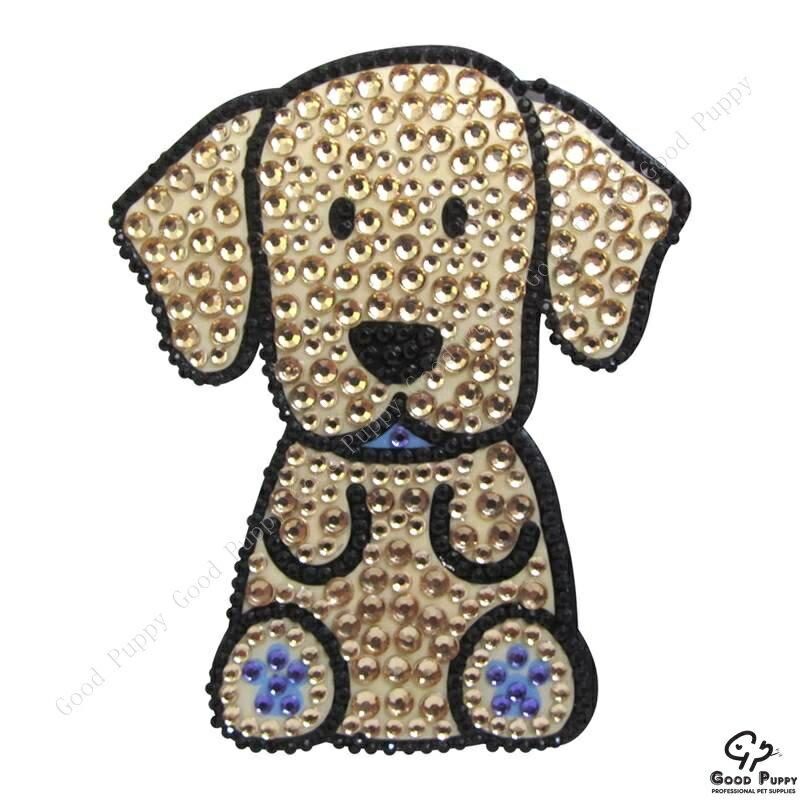 加拿大進口狗狗寵物水鑽貼紙-拉不拉多92961 Golden Labrador 手機/平板/電腦/iPad/iPhone/小禮物/贈品