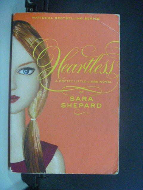 【書寶二手書T3/原文小說_GJP】Pretty Little Liars 7: Heartless_Shepard