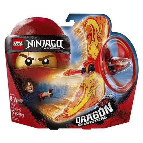 樂高積木LEGO《LT70647》2018年NINJAGO旋風忍者系列-赤地–火焰飛龍大師