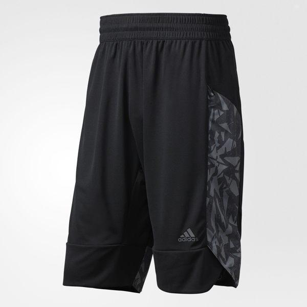 ADIDAS BASKETBALL ESSENTIALS PRINT 男裝 短褲 籃球 透