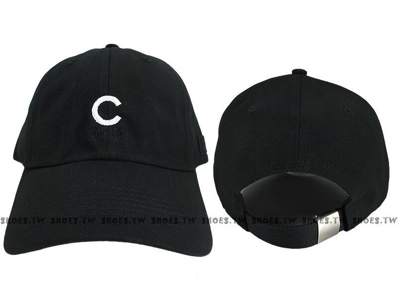 Shoestw【5762002-900】MLB 美國大聯盟 調整帽 老帽 小熊隊 小LOGO 黑色 男女都可戴