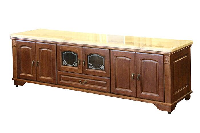~尚品傢俱~695~05 喬文7尺石面柚木色電視櫃 TV櫃 收納櫃 長櫃 矮櫃 客廳櫃 T