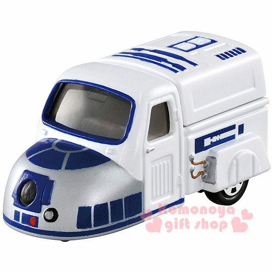 〔小禮堂〕星際大戰 TOMICA小汽車《白.R2-D2.黑盒裝》STAR WARS系列