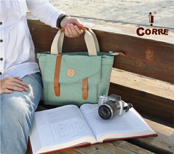 CORRE【JJ018】簡約時尚小手提兩用包─情人紅/青瓷綠?共2色