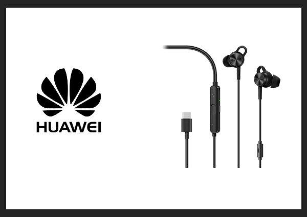 送便利貼HUAWEI華為原廠CM-Q3主動降噪入耳式立體聲耳機USBTypeC(台灣公司貨)