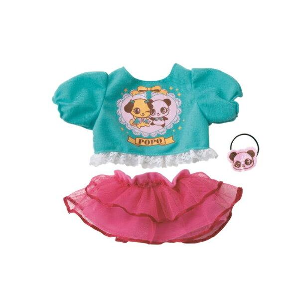 全新品出清只有一組】POPO-CHAN-洋娃娃粉紅澎裙裝組合349元