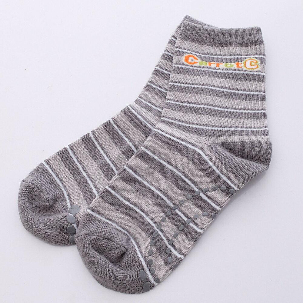 日本月星MoonStar 機能鞋品牌旗艦館 日本月星Moonstar機能襪-Carrot C四大機能健康童襪09038卡其(13-15cm)