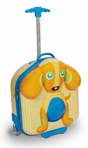 ~淘氣寶寶~瑞士~Oops~歐歐皮 烏噗司~快樂行李箱(小狗)~歐盟CE、德國萊因TUV