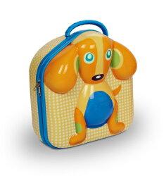 瑞士【Oops】歐歐皮 烏噗司-造型餐盒(小狗)【外層由柔軟耐用的矽所製,內外層可輕易清洗】【紫貝殼】