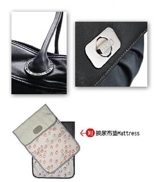 Quinny Bags 時尚媽媽包 (附換尿布墊Mattress)【淘氣寶寶】 1