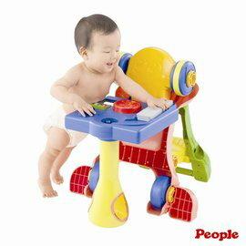 【淘氣寶寶】日本 People 騎乘系列-第二代5合1變身學步車.幼兒玩具.8個月以上.親子討論區熱烈反應