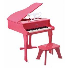 【淘氣寶寶】德國Hape愛傑卡 音樂系列-音樂大鋼琴-粉紅.兒童樂器