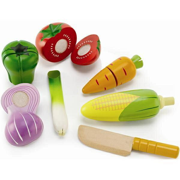 【淘氣寶寶】 德國Hape愛傑卡 角色扮演廚房系列-主廚蔬菜組