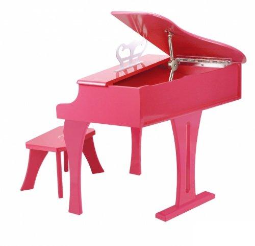 【淘氣寶寶】德國Hape愛傑卡 音樂系列-音樂大鋼琴-粉紅.兒童樂器 1