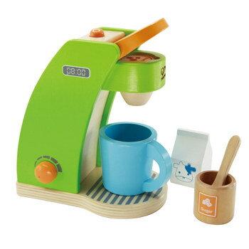 【淘氣寶寶】德國 Hape 愛傑卡 角色扮演廚房系列 咖啡製作機