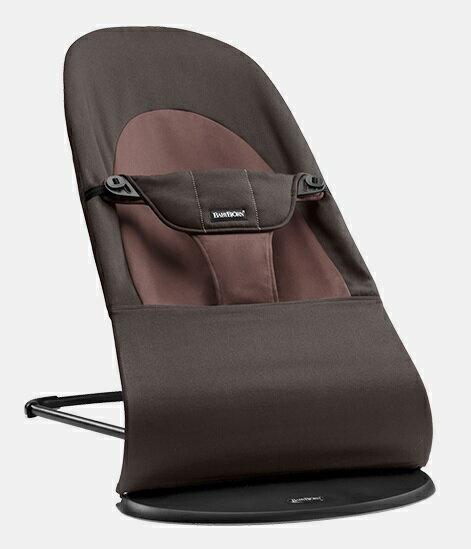 【淘氣寶寶】瑞典 BabyBjorn Bouncer Balance Soft 柔軟彈彈椅-咖啡【彈彈椅自然擺動不需使用電池/符合人體工學】【正品】