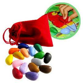 【淘氣寶寶】 美國【Crayon Rocks 酷蠟石】16 pcs 紅包袋/純美國天然製程之大豆蠟筆