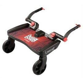 【淘氣寶寶】瑞典 Lascal Maxi 萊斯卡嬰兒手推車 輔助踏板-紅色 加大版【承重20公斤 / 符合歐洲安全標準】 - 限時優惠好康折扣