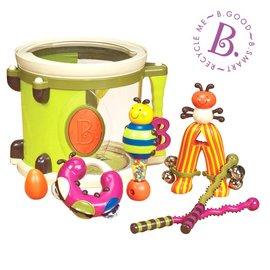 【淘氣寶寶】美國B.Toys感統玩具-砰砰砰打擊樂團~榮耀美國國際組最佳玩具