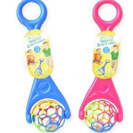 【淘氣寶寶】美國 Kids II-Oball【洞動滾球】魔力洞動球.洞洞球.動動球*暢銷款【不含PVC,乳膠和鄰苯二甲酸鹽 】