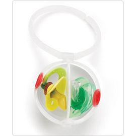 【淘氣寶寶】Skip hop Paci Egg 雙層奶嘴盒/儲存盒/存放袋【保證原廠公司貨】