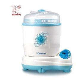 【淘氣寶寶】Baby City 微電腦負離子蒸氣烘乾兩用消毒鍋(BB12013)