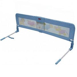 【淘氣寶寶】欣康 SYNCON -加高加長型床護欄/床欄/床圍-水藍色 (長142公分.高52公分 崁入式)