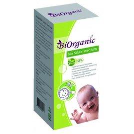 【淘氣寶寶】法國原料生產製造 寶兒有機天然嬰兒防蚊噴液 90ml【無人工色素、香精】