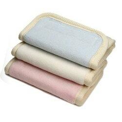 韓國 Pognae 100%純棉口水巾-粉紅/藍色/白色【紫貝殼】