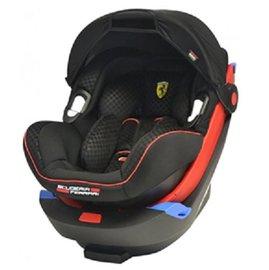 【淘氣寶寶】法拉利 Iso-fix提籃式汽座FR00358+底座(底座可以安全帶安裝),若需ISOFIX裝置,需另購底盤【保證原廠】