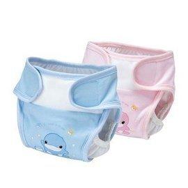 【淘氣寶寶】KUKU-Duckbill環保尿布褲S 粉/藍【保證原廠公司貨】