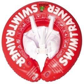 【淘氣寶寶】德國SWIMTRAINER ClassicFreds兒童學習游泳圈 0-4歲 (8-18kg)【紅色】贈打氣筒1支(隨機出貨)