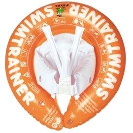 【淘氣寶寶】德國SWIMTRAINER Classic Freds兒童學習游泳圈 2-6歲 (15-30kg)【橘色】贈打氣筒1支(隨機出貨)