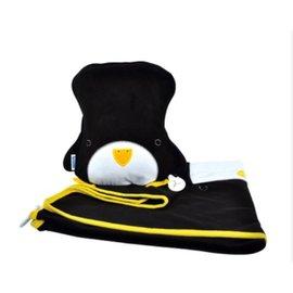 【淘氣寶寶】英國Trunki副牌Snoozihedz 三合一攜帶型旅行被枕組【企鵝】