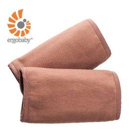 【淘氣寶寶】美國正Ergo Baby ergobaby Teething Pad 爾哥寶寶背巾用 嬰幼兒吸吮墊/口水巾( 100%有機認證棉材質) 摩卡色