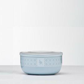 【淘氣寶寶*】Kangovou小袋鼠不鏽鋼安全點心碗-野莓藍