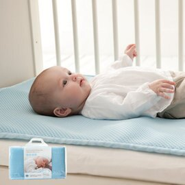 【淘氣寶寶】奇哥 Joie 立體超透氣涼墊(嬰兒床專用)【3D立體編織/黃金比例7mm厚/表層吸濕排汗紗】