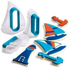 【淘氣寶寶】《CUISIPRO》帆船餅乾壓模器【保證原廠公司貨】
