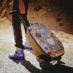 瑞士 Micro Steve Aoki Luggage 第二代 ( Samsonite登機箱 )【紫貝殼】