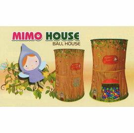 【淘氣寶寶】【CHING-CHING親親】樹屋帳篷+100球(6cm) CBH-31 球屋