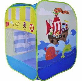 【淘氣寶寶】【CHING-CHING親親】動物海盜帳篷+100球(6cm) CBH-25 球屋