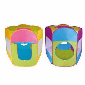 【淘氣寶寶】【CHING-CHING親親】六角帳篷+100球(6cm) CBH-30 球屋