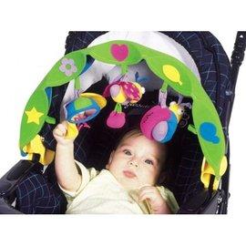 【淘氣寳寳】Tiny Love 造型玩具/嬰兒手推車汽座提籃/夾置玩具 0+ (蝸牛)Tiny Love Take-Along Arch