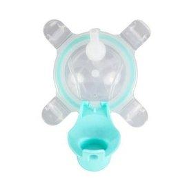 【淘氣寶寶】美國Kangovou小袋鼠兩用杯替換上蓋+吸管薄荷綠