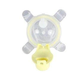 【淘氣寶寶】美國 Kangovou小袋鼠兩用杯替換上蓋+吸管 檸檬黃