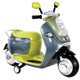 【淘氣寶寶】《復刻限量款》BMW MINI E-SCOOTER 電動摩托車W338