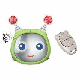 【淘氣寶寶】【以色列Benbat】嬰兒音樂聲光後視鏡監察鏡(綠藍粉)【保證公司貨●品質有保證●非水貨】