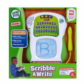 【淘氣寶寶】美國 LeapFrog 跳跳蛙-學習寫字機【全英語益智教育玩具】【公司貨】