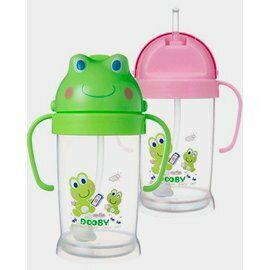 【淘氣寶寶】Dooby 大眼蛙250ML卡通神奇喝水杯.飲料杯.超熱賣商品【保證原廠公司貨●品質有保證】